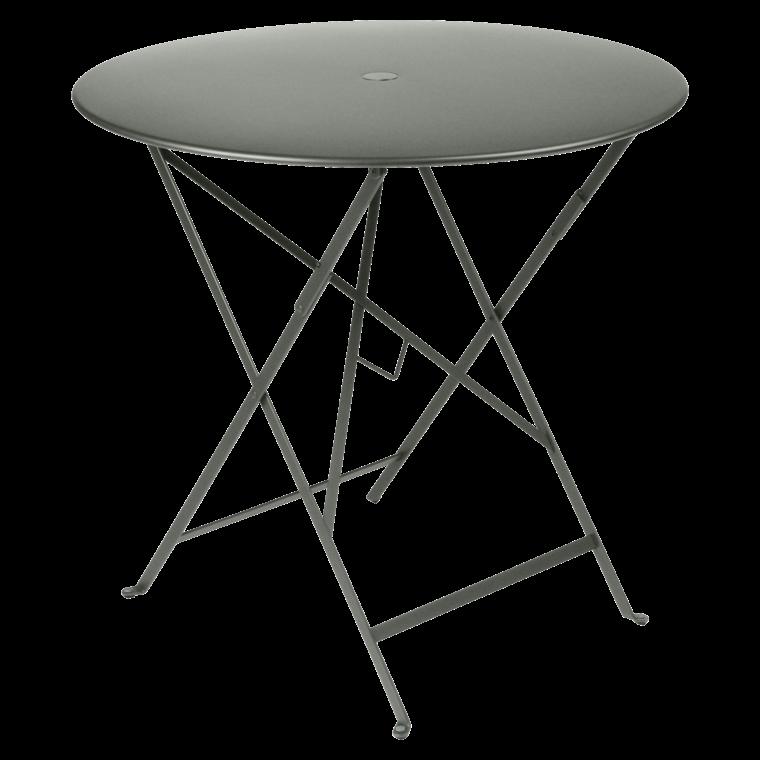 TABLE PLIANTE BISTRO Ø77 CM - Lin