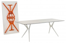 TABLE PLIANTE SPOON KARTELL L140 CM