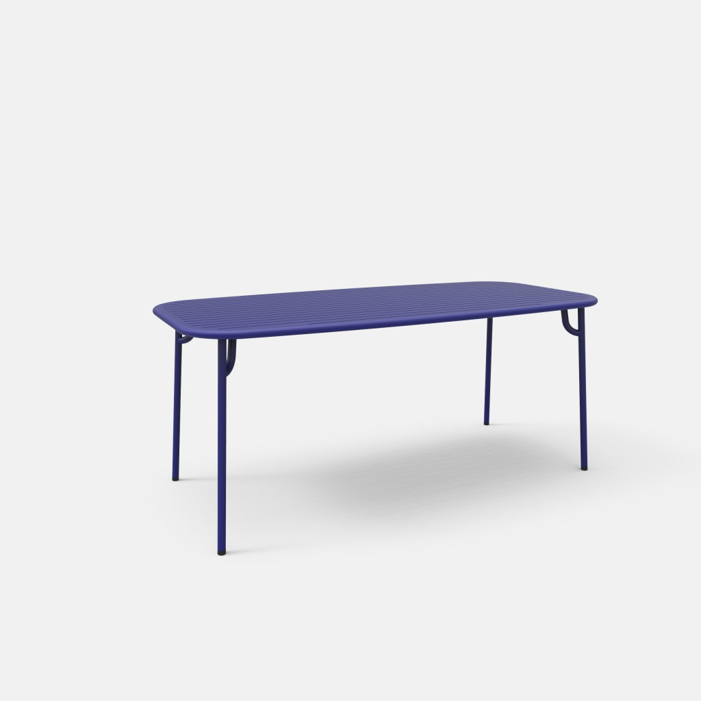 TABLE RECTANGULAIRE WEEK END PETITE FRITURE
