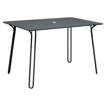 TABLE SURPRISING 120 X 77 CM - Gris orage