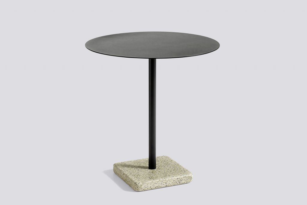 TABLE TERRAZZO Ø70 CM CHARCOAL