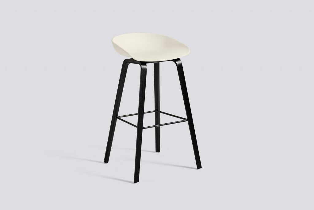 TABOURET AAS32 H75 - Pieds noirs
