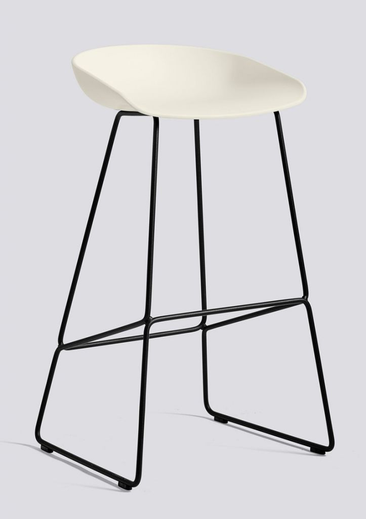 Tabouret Aas38 H75 Pieds Noirs
