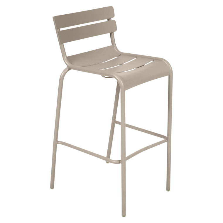 TABOURET LUXEMBOURG H.80 cm - Blanc coton