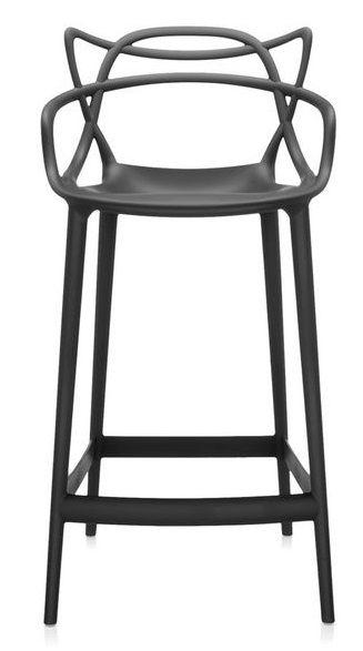 TABOURET MASTERS 65cm - Noir