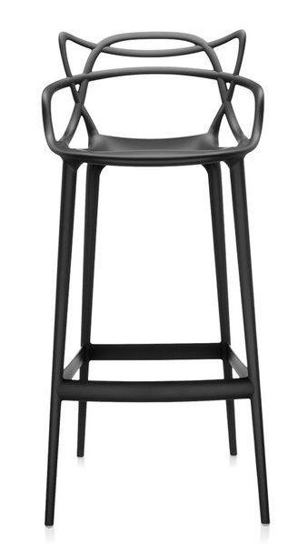 TABOURET MASTERS 75cm - Noir