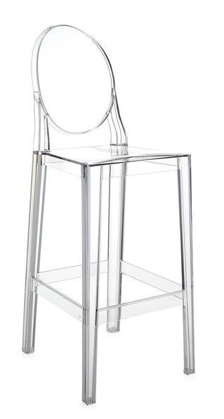 TABOURET ONE MORE 65cm  - Blanc
