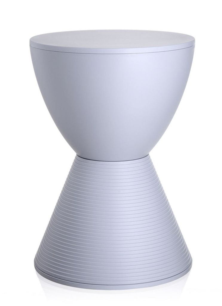 TABOURET PRINCE AHA KARTELL  - Blanc cire