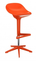 Tabouret réglable Spoon - Kartell - Orange