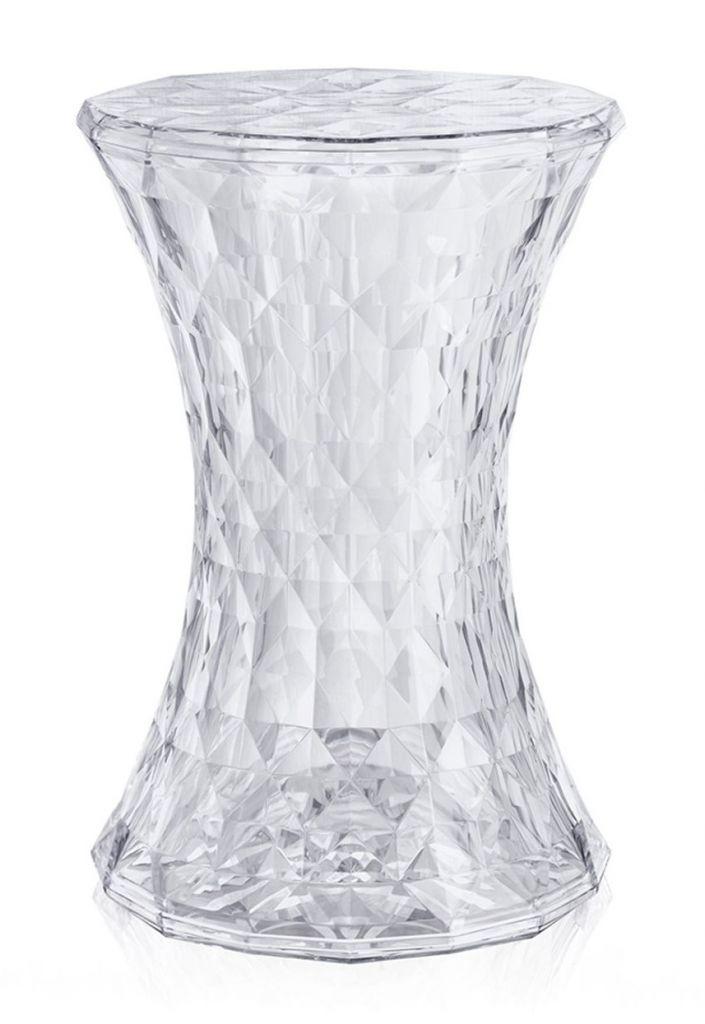 Tabouret Stone - Kartell - Cristal