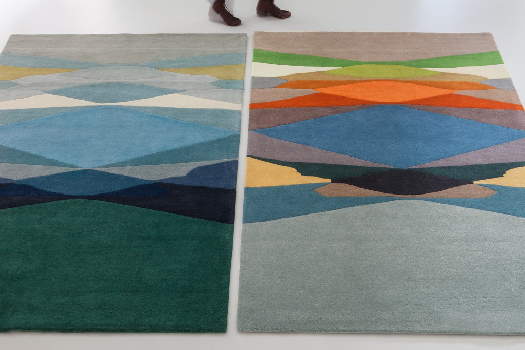 TAPIS DISTORTION MULTICO - SERGE LESAGE