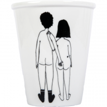 Tasse Couple nu dos - Helen B