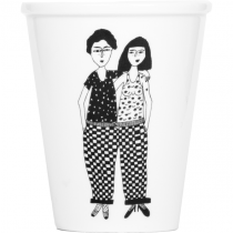 Tasse Couple nu face - Helen B