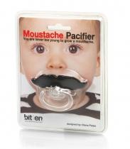 Tétine moustache - Bitten