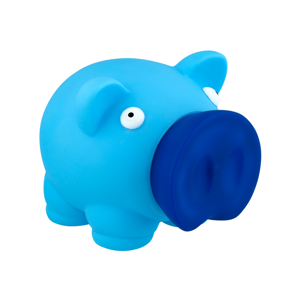 Tirelire Piggy bank - Pylones - Bleu