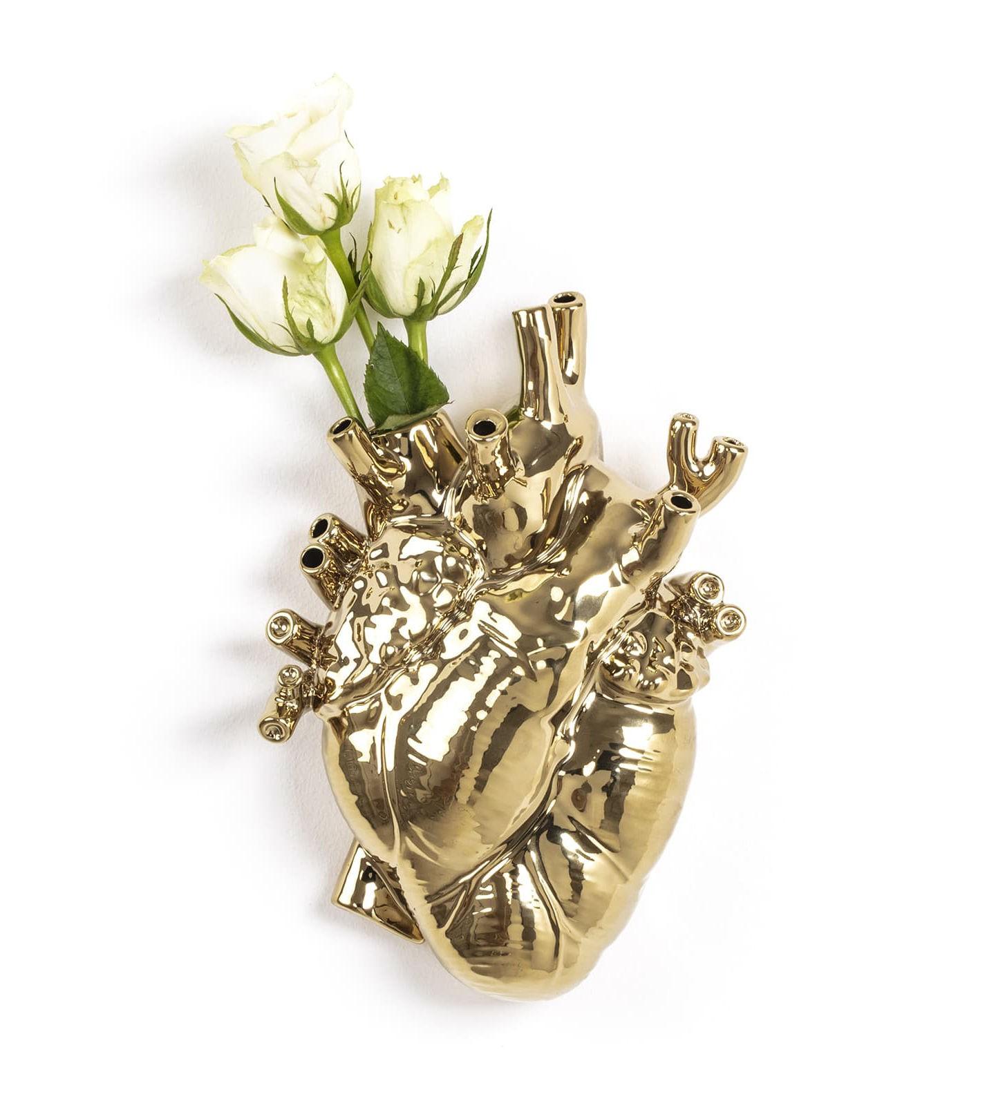 Vase coeur Love in Bloom - Seletti