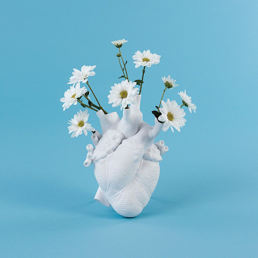 Vase coeur Love in Bloom - Seletti
