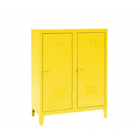 Vestiaire B2 bas - Brillant - Tolix - Citron